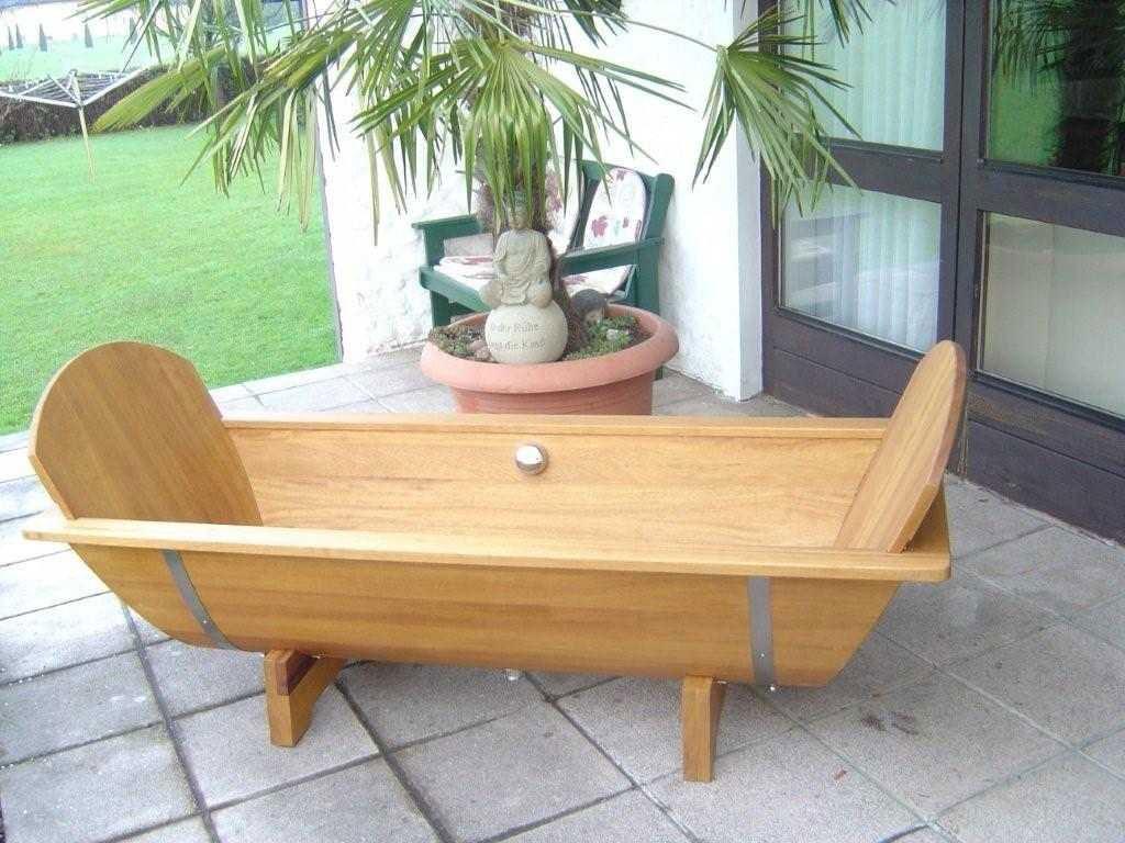 holzbadewanne achleitner omega 200x80x58cm kambalaholz ab u berlauf bei. Black Bedroom Furniture Sets. Home Design Ideas