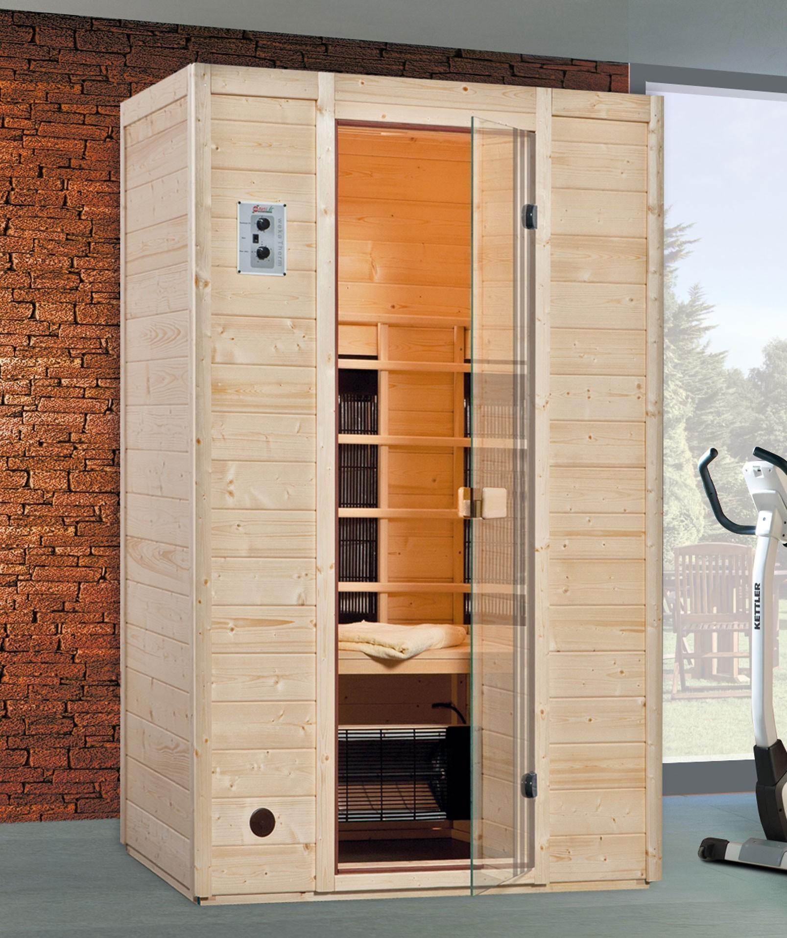 w rmekabine infrarotkabine weka 550 gr 2 mit keramikstrahler bei. Black Bedroom Furniture Sets. Home Design Ideas