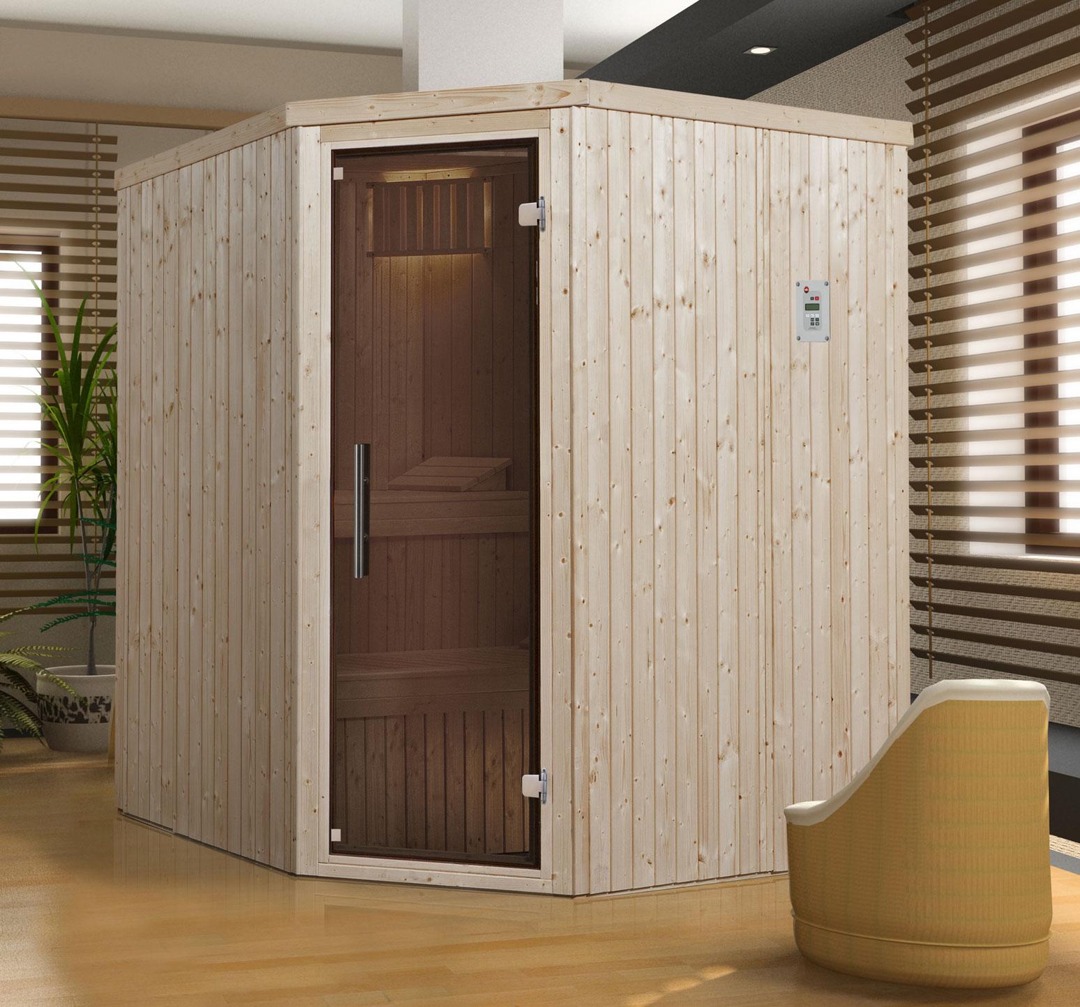 weka sauna 508 gt 230 volt elementsauna ohne saunaofen. Black Bedroom Furniture Sets. Home Design Ideas