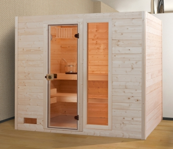 weka sauna 538 gtf gr 4 38 mm ohne ofen mit glast r und fenster bei. Black Bedroom Furniture Sets. Home Design Ideas