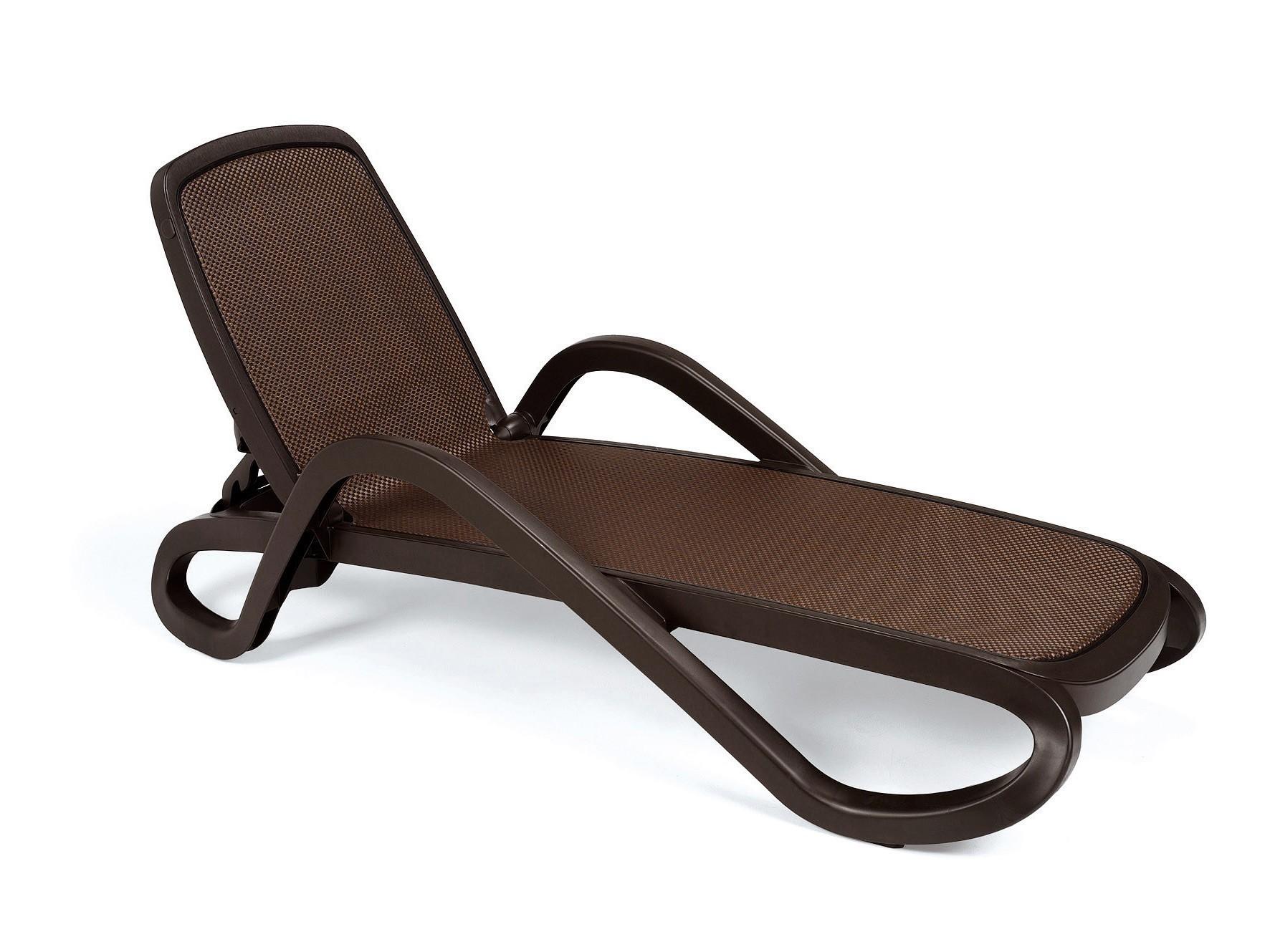gartenliege stapelbar caffeebraun kunststoff bei. Black Bedroom Furniture Sets. Home Design Ideas