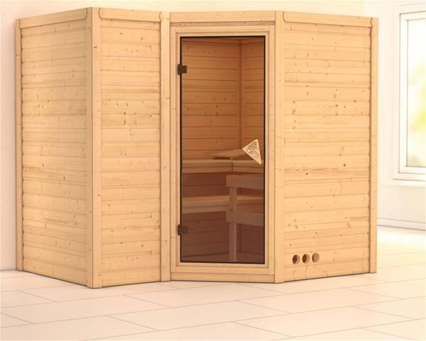 karibu sahib 2 preisvergleich massivholzsauna g nstig kaufen bei. Black Bedroom Furniture Sets. Home Design Ideas