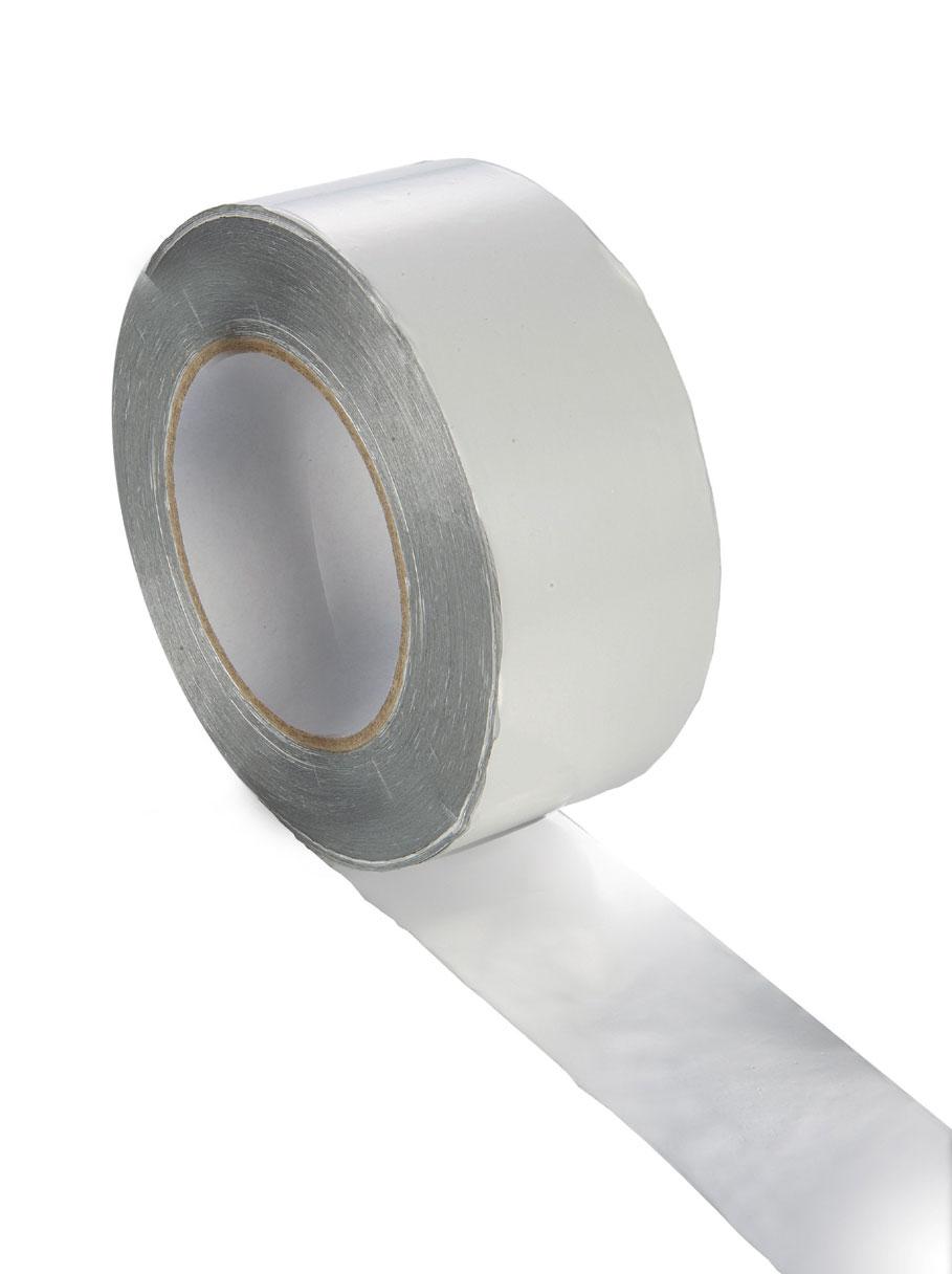 Aluminium Selbstklebeband bis 80°C Länge 50m für Sauna Bild 1