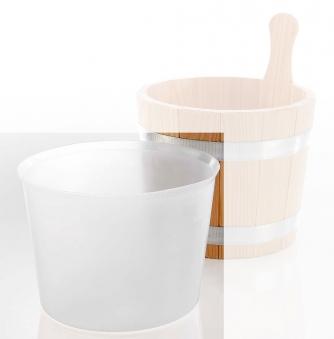 Eliga Kunststoff Einsatz für Sauna Aufgusseimer 5 Liter