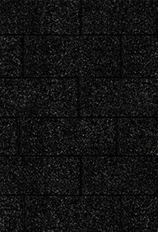 Bitumen Dachschindeln Karibu rechteckig schwarz 3m² Bild 1