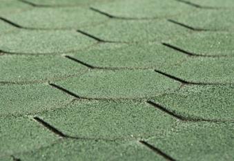 Bitumen - Dachschindeln Weka Biberschwanz vintage grün Bild 1