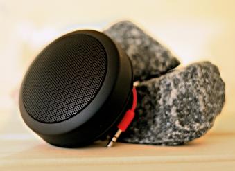 Bluetooth Lautsprecher für Sauna und Infrarotkabine Karibu Bild 1