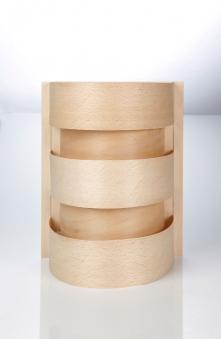 Eliga Blendschirm länglich mit Spanstreifen für Sauna Leuchte Bild 1