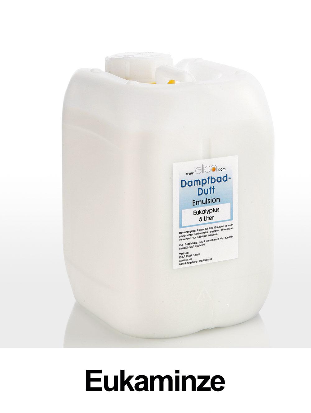 Eliga Dampfbad Duft Eukaminze 5 Liter Bild 1