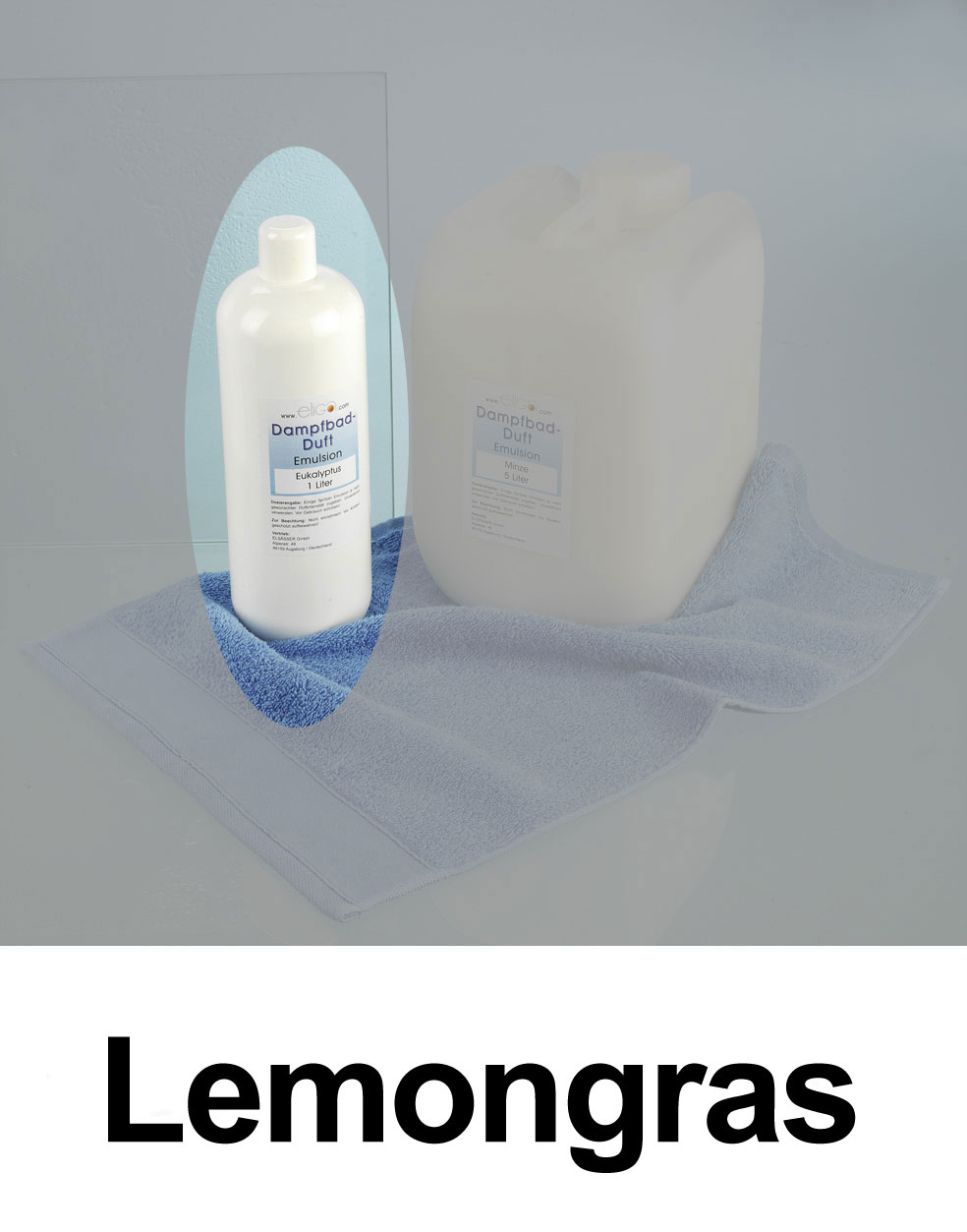 Eliga Dampfbad Duft Lemongras 1 Liter Bild 1