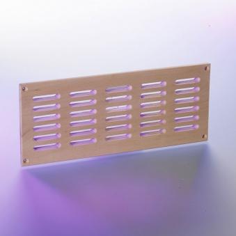 Eliga Lüftungsgitter aus Holz 100cm² Luftdurchlass für Sauna Bild 1