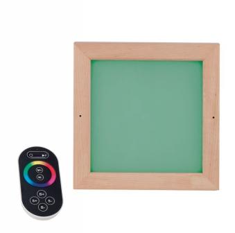 Eliga LED-Farbleuchte für Sauna bis 110°C dimmbar farbig Bild 1