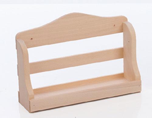 Eliga Wandregal für Sauna aus Holz natur 21cm Bild 1