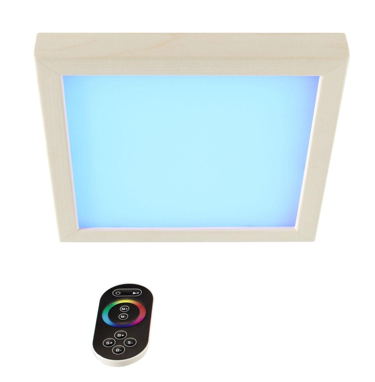 Farblicht LED Karibu für Sauna und Infrarotkabine Größe 2 Bild 1