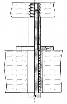 Federelemente 110N für Sitzflächen 10 Stück für Sauna Bild 2