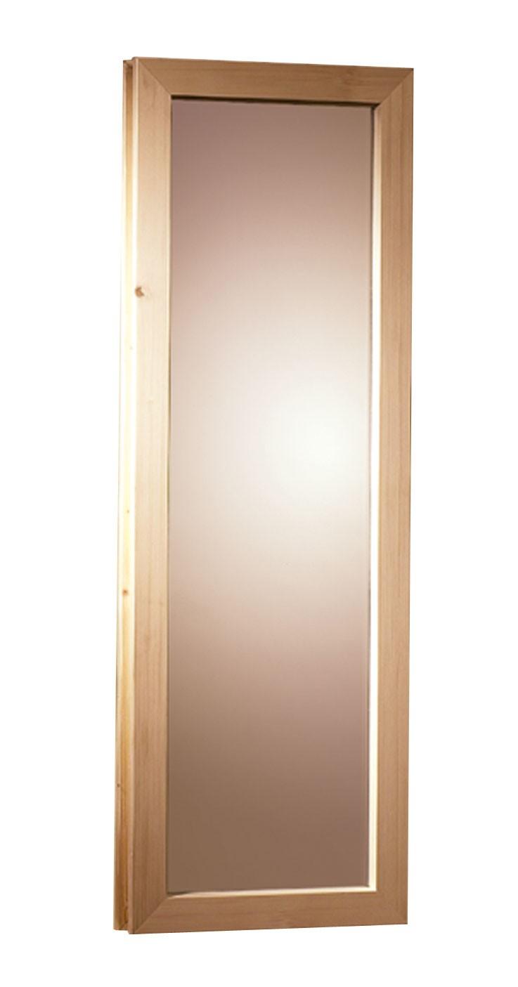 Fenster für Karibu Saunafass 25x60cm Bild 1