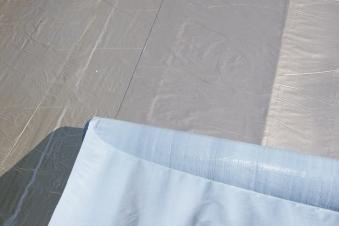Selbstklebende Dachfolie für Karibu Flachdächer dunkelgrau 5 m²