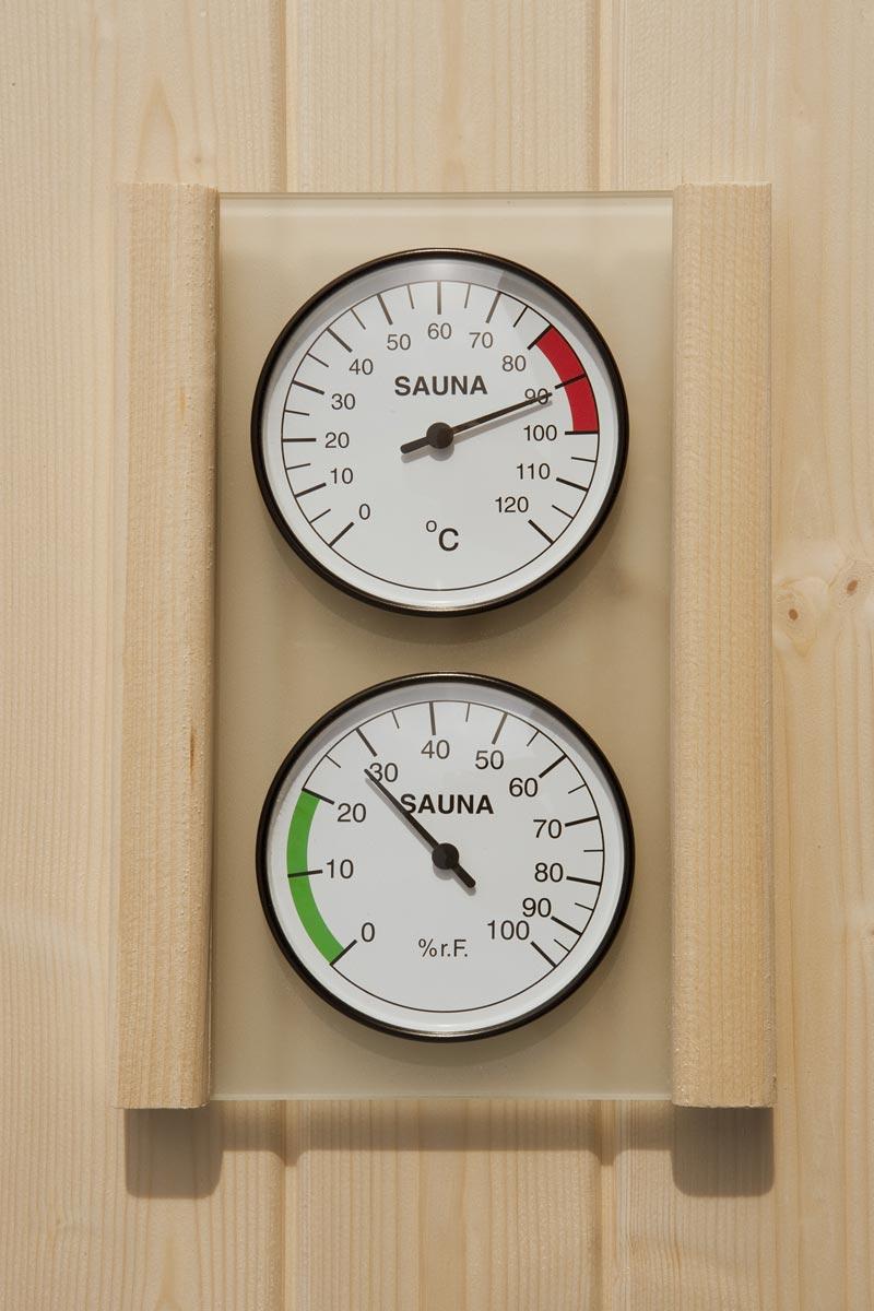 Hygrometer und Thermometer Set Weka Bild 1
