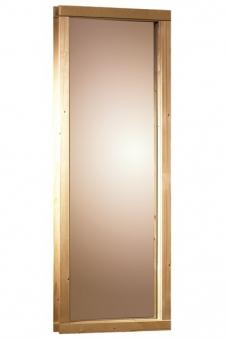Fenster für Karibu 68mm Sauna 43x102cm