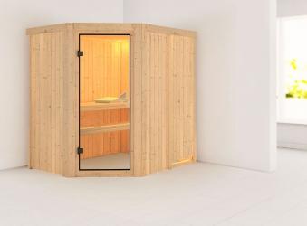 Karibu Sauna Saja 68mm 230V ohne Ofen classic Tür Bild 1