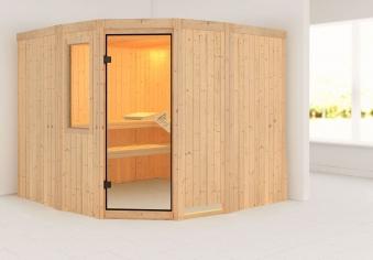 Karibu sauna simara3 68mm fenster ohne ofen classic t r bei - Sauna fenster ...