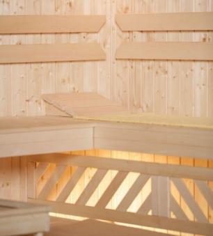 Komfortpaket 3 für Weka Saunen B 244 x T 194 cm Bild 2