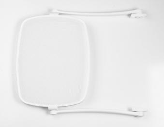 Nardi Sonnendach Parasole für Nardi Gartenliege weiß / trama bianco