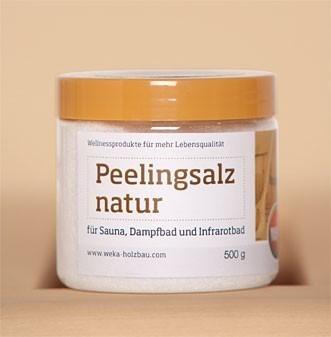 Peelingsalz natur Weka 500 g Bild 1