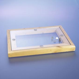 Punkthaltesystem für Holzrahmen 10 Stück Bild 1