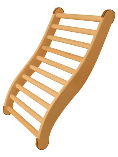 Rückenlehne Classic ergonomisch geformt Karibu Bild 1