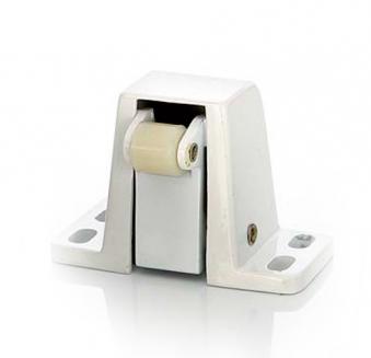 Rollverschluss 130N / 150N weiß für Sauna Tür Bild 1