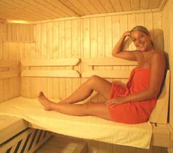 Sauna Querliege Weka 124 cm Bild 1