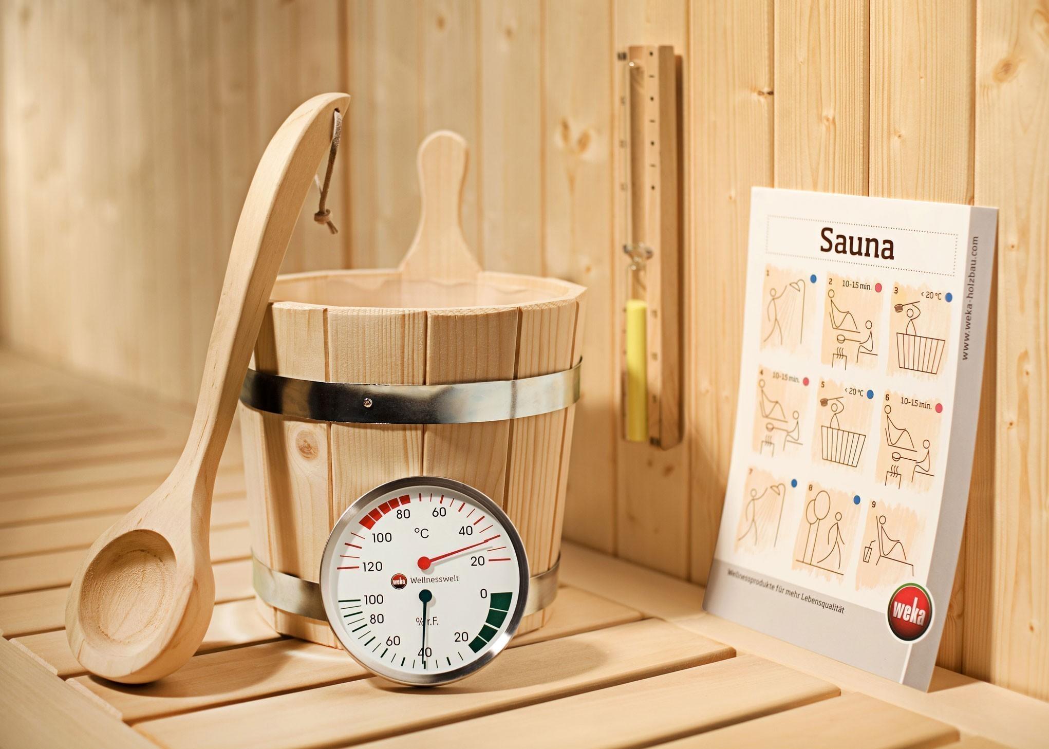 Sauna Zubehör Set Weka 5-teilig Bild 1