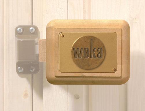 Saunagriff Set Weka für Holztür Bild 1