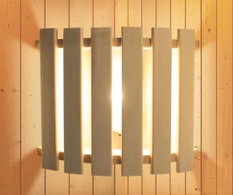 Saunaleuchte Modern Karibu Starkstrom Bild 1