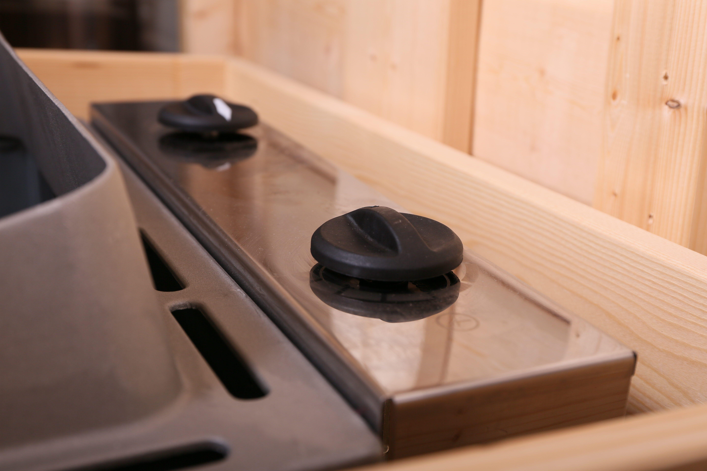 Saunaofen 9kW Woodfeeling mit integrierter Steuerung Bild 3