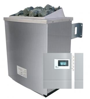 Saunaofen Set 4,5 kW Karibu mit externer Steuerung Premium Bild 1