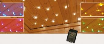 Sternenhimmel für Sauna und Infrarotkabine Bild 1