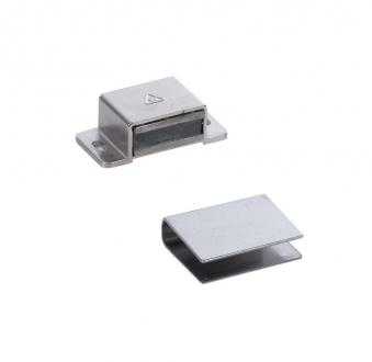 Türmagnet 80 N für Sauna zum Anschrauben für Glastüren 8mm Bild 1
