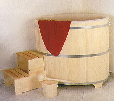 Tauchbecken Achleitner 380L Fichte natur m. Kunststoffeinsatz Bild 1