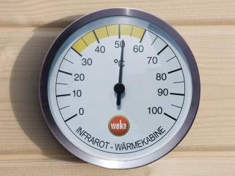 Thermometer Weka für Infrarot Wärmekabinen Bild 1