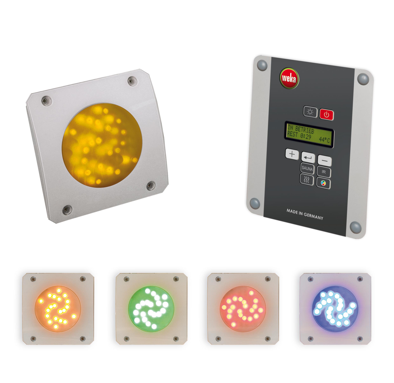 Weka Farblicht-Set B / Farblichtanwendung LED mit Bedienteil Bild 1
