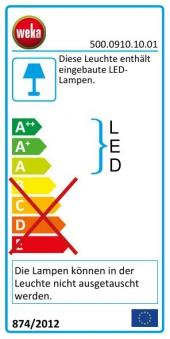 Weka Farblicht-Set A / Farblichtanwendung LED ohne Bedienteil Bild 3