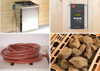 Weka Technikpaket 1 Saunaofen Klassik 9kW mit Steuergerät