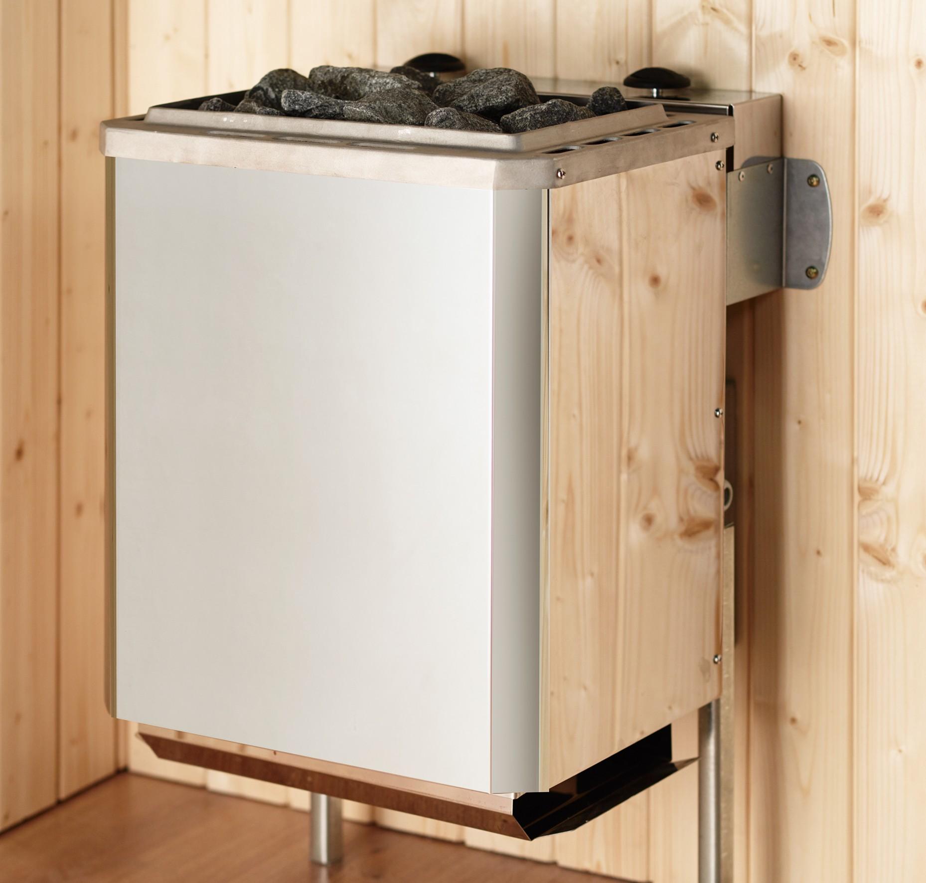 Weka Saunaofen Kompakt 5,4kW mit intergrierter Steuerung Bild 1