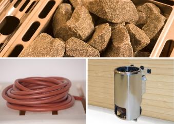 Weka Saunaofen Set 9 Kompakt 3,6kW mit integrierter Ofensteuerung Bild 1