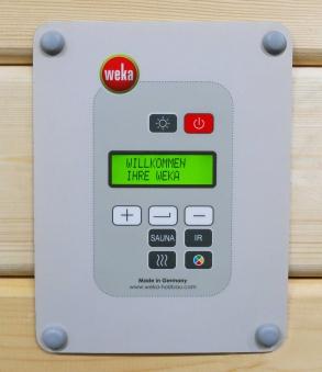 Weka Systemsteuerung digital BioS für Bio Saunaofen Bild 1