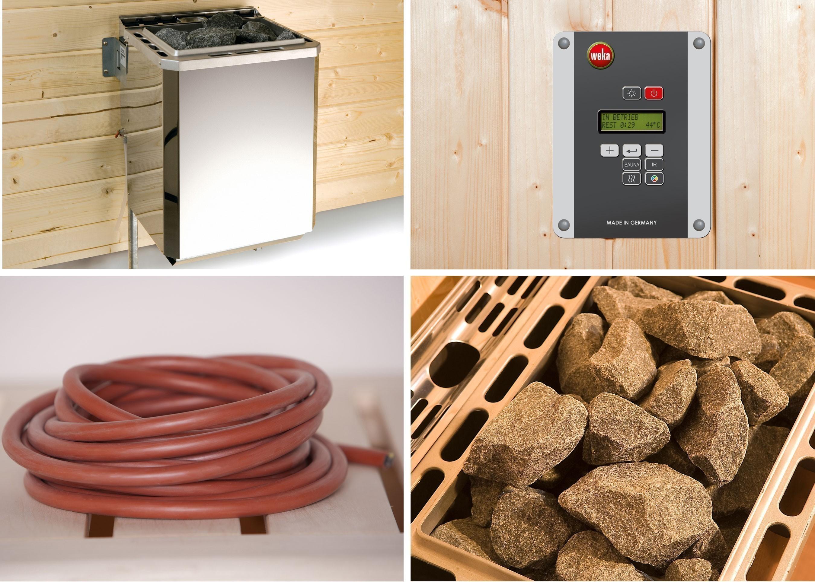 Weka Technikpaket 1 Saunaofen Klassik 9kW mit Steuergerät Bild 1