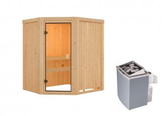 Woodfeeling Sauna Faurin 68mm Saunaofen 9kW intern Bild 10