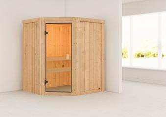 Woodfeeling Sauna Faurin 68mm ohne Saunaofen Bild 1